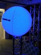 Luft Ballon mit LED Licht (RGB) & Fernb.