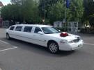 Weisse, klassische Stretch-Limousinen mieten ab Basel