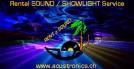 Rental SOUND / SHOWLIGHT Service