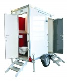 TOI® WC-Trailer VIP Duo