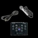 DJ Upgrade Set: Mischer und Mikrofon