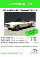 Miete einen Ford Mustang Convertible '67