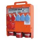 Baustromverteiler 2x T13, 3x T25, 2x CEE