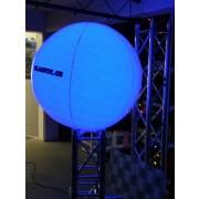 Grosser Luft Ballon mit LED Licht (RGB)