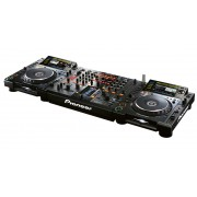DJ Set: DJ Mixer und 2x CD Player