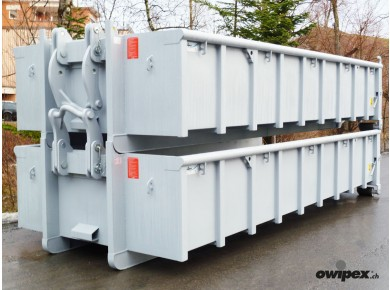 Abrollcontainer 12m3 stapelbar