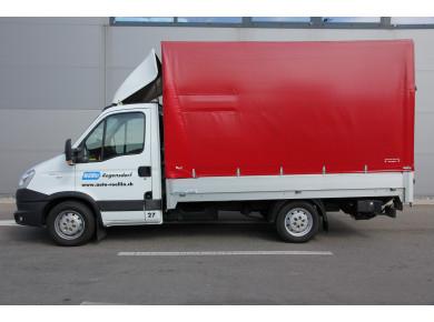 Lieferwagen mit Hebebühne Iveco Daily