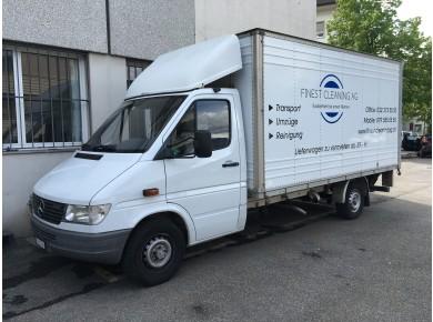 Lieferwagen mieten Mercedes Sprinter