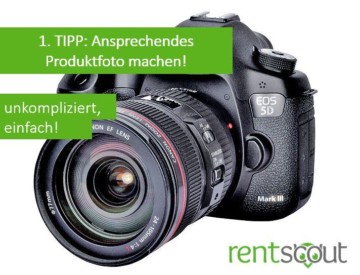 1. TIPP: Ansprechendes Produktfoto
